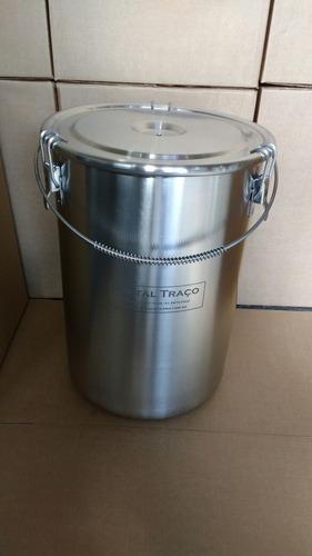 Tanque fermentador 30 litros inox 304 para cerveja for Tanque hidroneumatico 100 litros