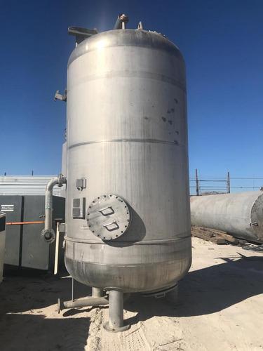 tanque filtro carbón activado de acero inoxidable