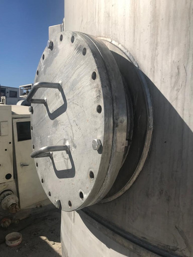 tanque filtro de acero inoxidable