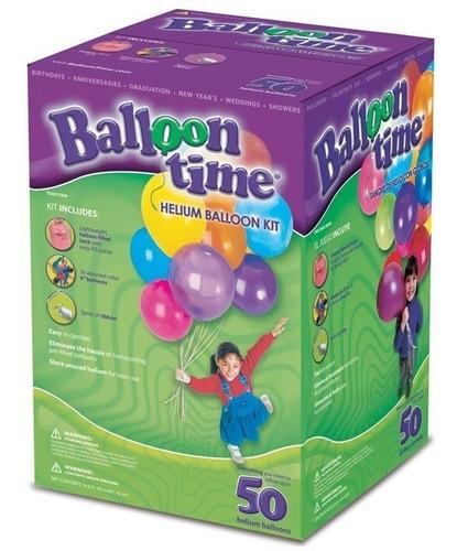 tanque gas helio globos decoracion fiesta