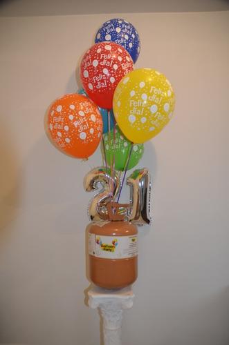 tanque gas helio para globos decoracion fiesta