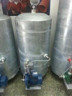 Tanque hidroneumatico de 80gal galvanizado con bomba 1hp for Tanque hidroneumatico