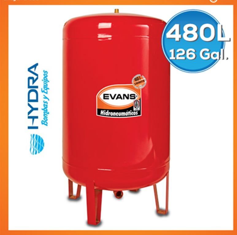 Tanque hidroneumatico hydro mac de 480l vertical for Costo hidroneumatico