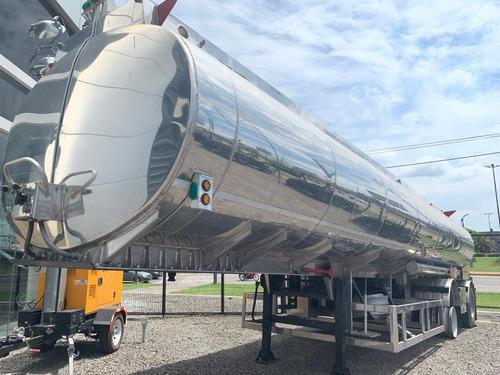 tanque indecar aluminio 37m3 3c 1+1 okm