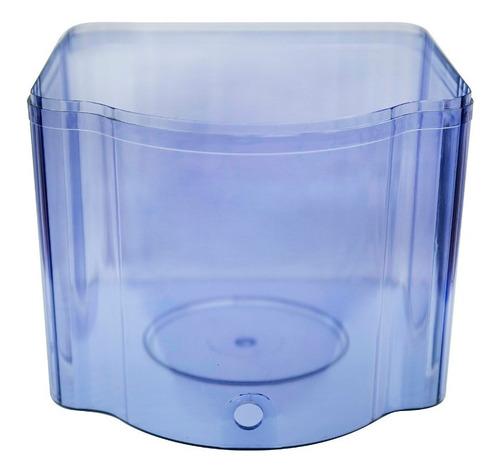 tanque inferior para filtro purificador agua ecotrade 21 lt.