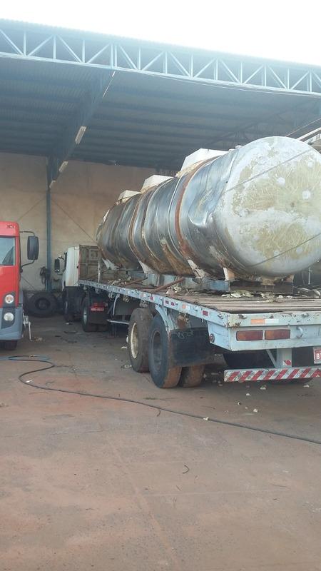 tanque inox 27 mil litros 3 compartimentos