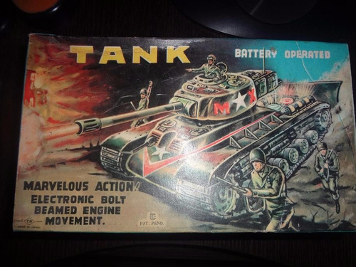 tanque japones del año 50 aproximadamente