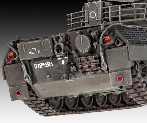 tanque leopard 1a1 1/35 revell 03258