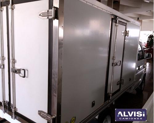 tanque lleno 1.2cc furgón y equipo de frío -5cº 0km iva inc.