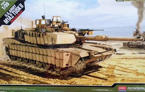 tanque m1a2 tusk ii escala 1/35 academy 13298