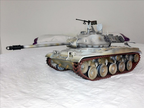 tanque m41 walker bulldog, escala 1/18, espectacular!