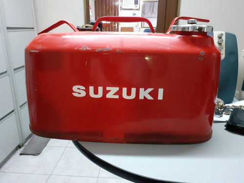 tanque metálico para gasolina capacidad 20 lts.