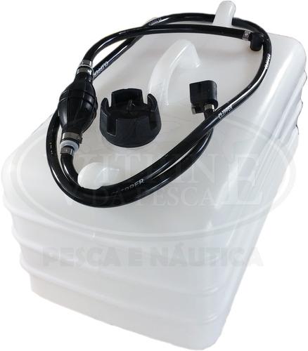 tanque motor de popa 28 litros completo