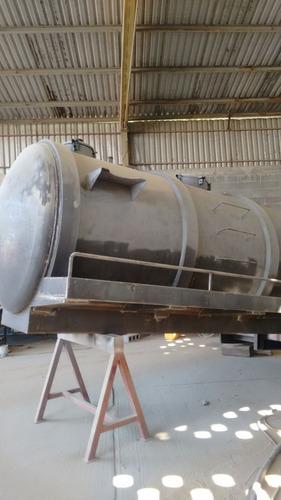 tanque nuevo de presión y vacío para desazolve cap. 10000 lt