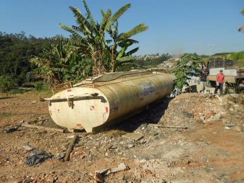 tanque para ágúa capacidade 8.000 litros-usado ac trocas