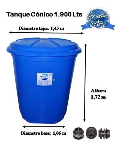 tanque para agua de 1900 litros