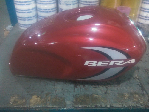 tanque para gasolina bera 200 cc (rojo)