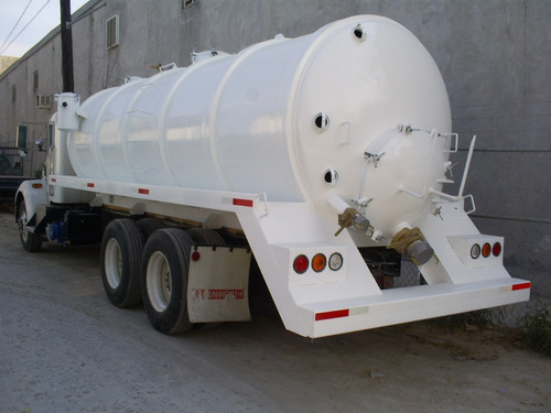 tanque para lodos, presion y vacio, cap. 15,000 lts libres