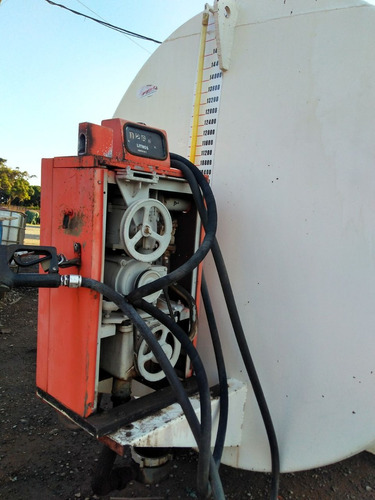 tanque para óleo diesel 15.600 l boa conservação 1995