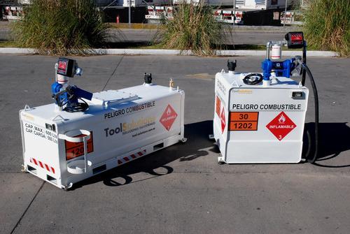 tanque para traslado de combustible, tanque surtidor gasoil