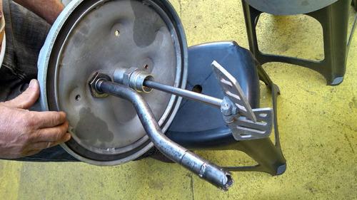 tanque pintura 18 lts com agitador pneumatico (injermac)