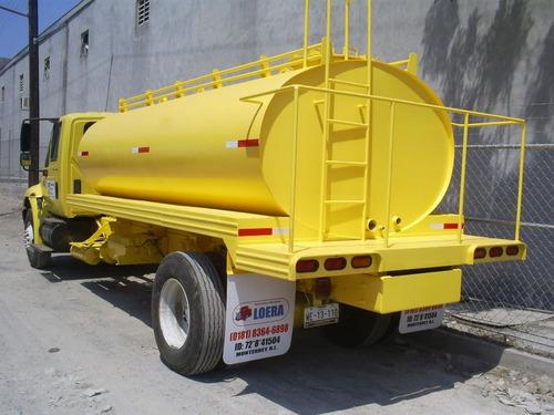 tanque pipa de 10,000 lts diseño eliptico