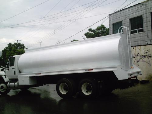 tanque pipa para agua de 15,000ltrs  para camion torton