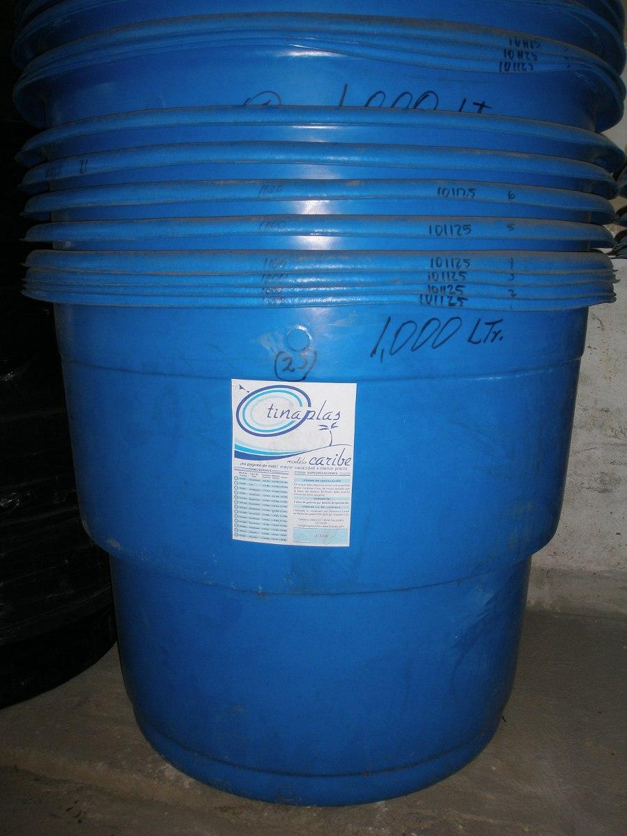 Tanque plastico para agua 1000 litros marca tinaplast for Estanque para agua de 1000 litros