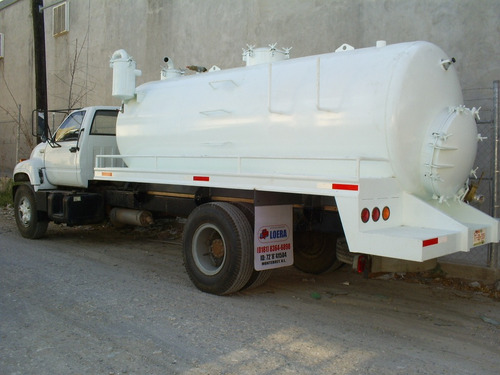 tanque presion - vacio cap 10,000 lts, para lodos o fosas