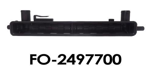 tanque radiador ford fiesta power sincrónico  entrada/salida
