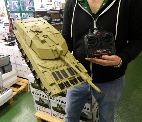 tanque rc heng long abrams m1a2 1/16  humo y airsoft 6mm