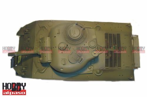 tanque rc radio control (disparan balines,sonido,humo,etc)