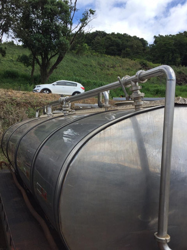 tanque rodoviário de inox 8 mil litros.