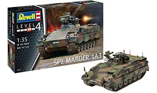 tanque spz marder 1a3 - 1/35 revell 03261