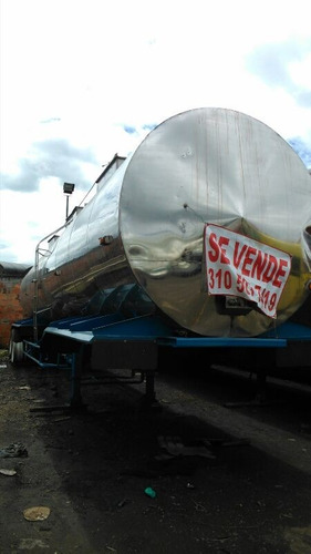 tanque trailer acero inoxidable termico tipo lechero