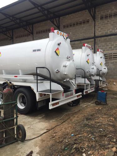 tanque vacuum con capacidad de 160 bls