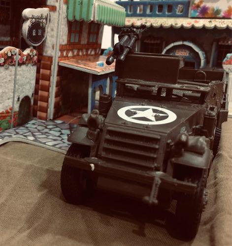 tanque vehículo blindado m3 semioruga 1:32