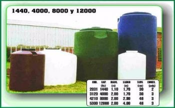 tanque vertical moldplas 6000lts