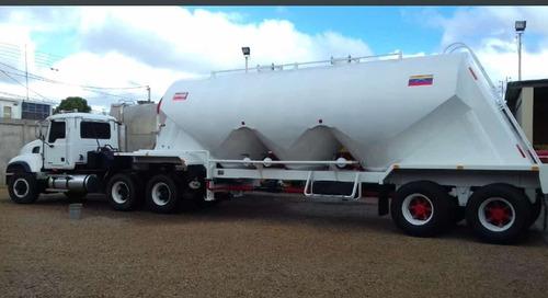 tanques cementeros para el transporte a granel 28 mts3