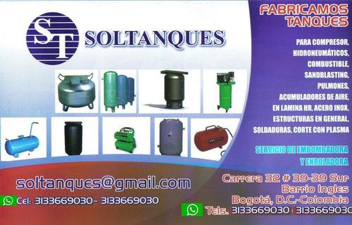 tanques  compresor  combustible metalmecanica  estructuras