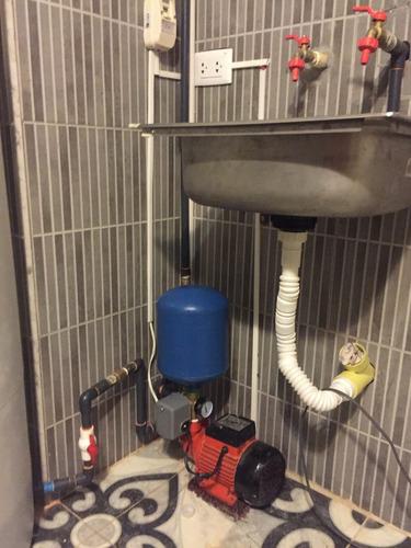 tanques de agua apartamento+bomba+hidroneumatico+intstalcion