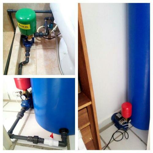 tanques de agua cilindric para apartamentos sistema completo