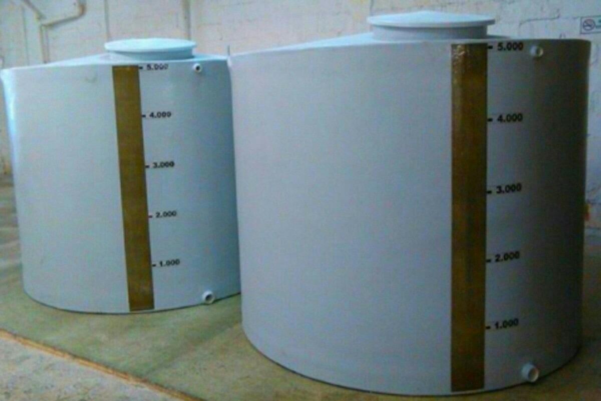 Tanques de agua en fibra de vidrio en mercado libre for Estanque de agua 10000 litros precio
