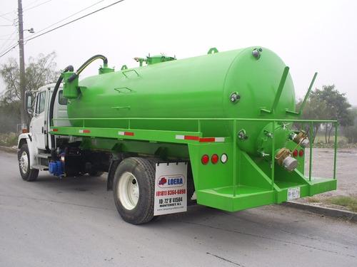tanques de desazolve, para septicos, de presion y vacio