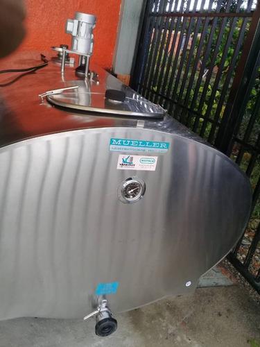 tanques de enfriamiento de leche