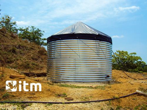 tanques de geomembrana tipo australiano para almacenar agua