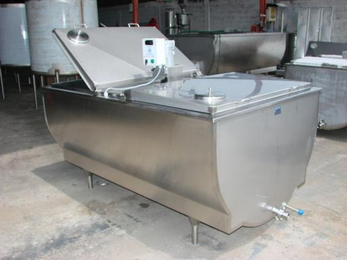 tanques en acero inoxidable para enfriar leche