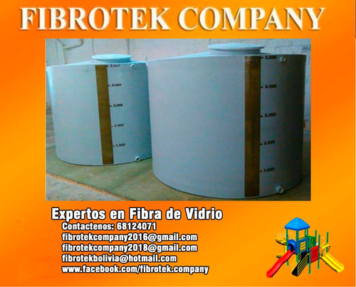 tanques industriales fabricados en fibra de vidrio