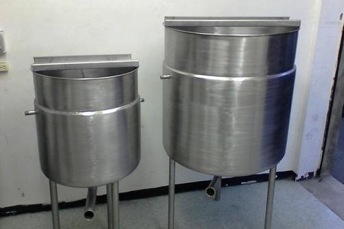 tanques, marmitas,  mesas, baldes  en acero  inoxidable