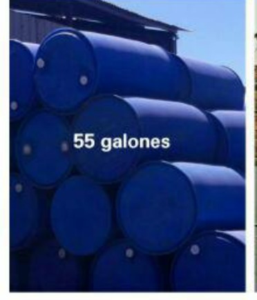 tanques para agua 55 galones